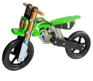 bicicleta enduro para niños