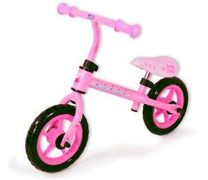 bicicleta peppa pig sin pedales
